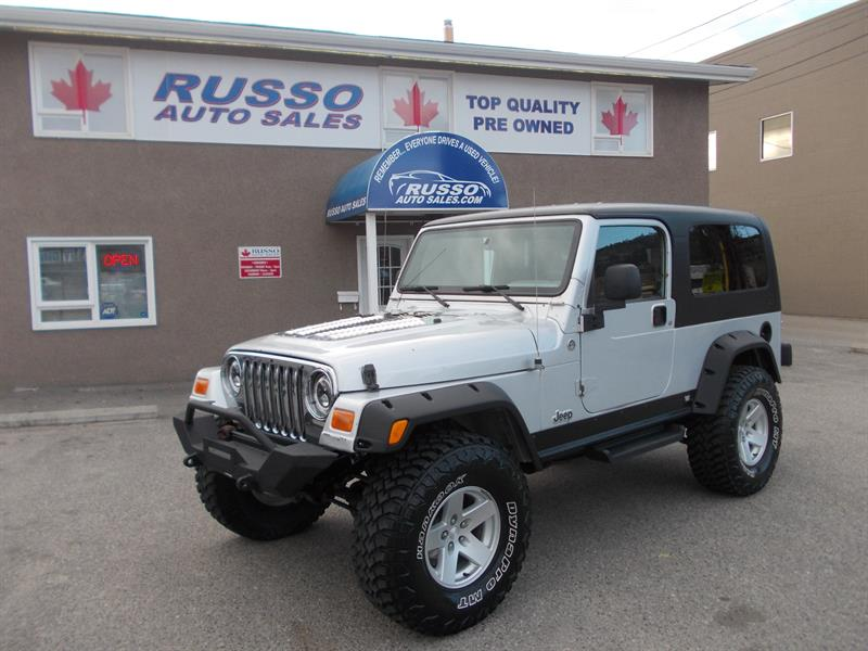 2005 Jeep TJ 2dr Unlimited #B0489