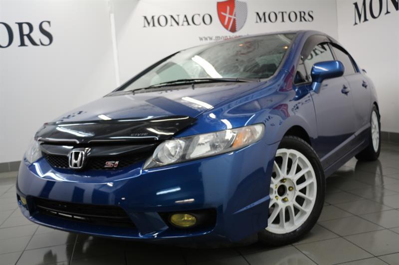 2010 Honda Civic Sdn Si MANUAL SUNRF #8181