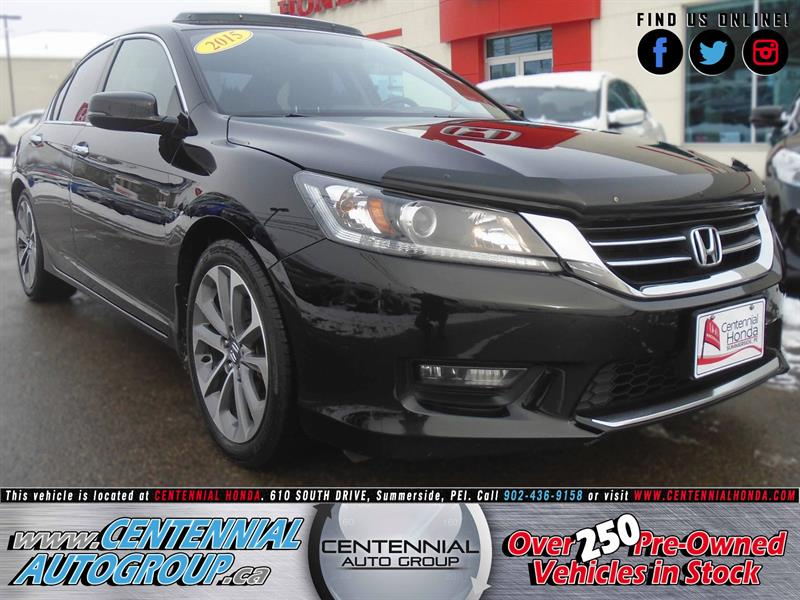 2015 Honda Accord Sedan Sport | 2.4L | i4-Cyl | Bluetooth | Cruise Control #8822A