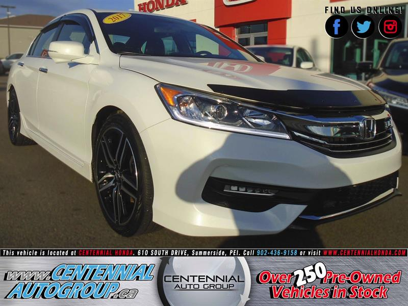 2017 Honda Accord Sedan Sport | 2.4L | Bluetooth | Honda Plus #8926A