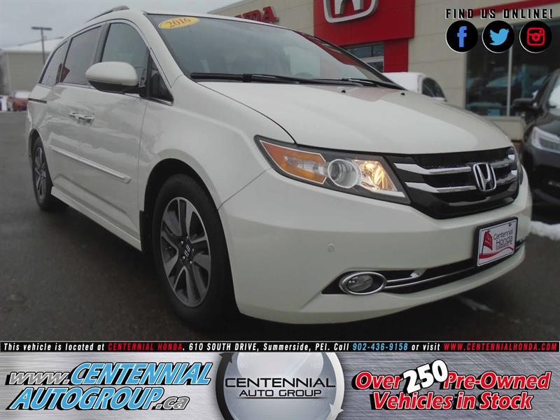 2016 Honda Odyssey Touring | V6 | Navi | Bluetooth | Honda Plus #8953A