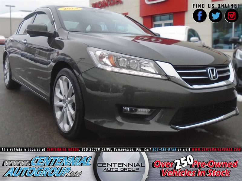 2014 Honda Accord Sedan Touring | 2.4L | Navi | Bluetooth | AC #8954A