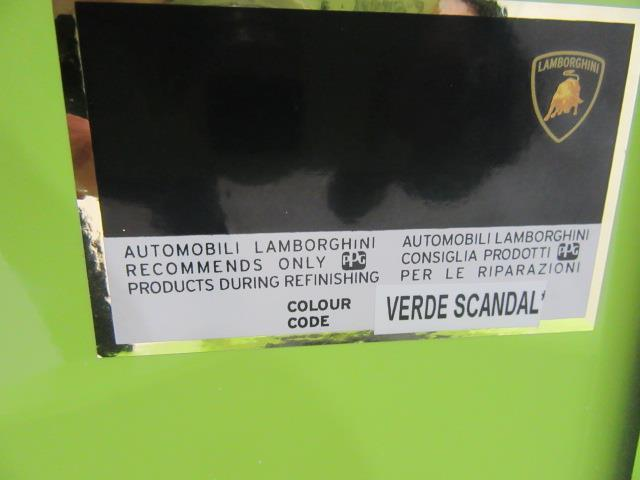 2014 Lamborghini Aventador Lp700 4 Verde Scandal Used For Sale In