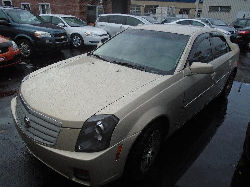 Cadillac CTS 2007 4dr Sdn 3.6L #VENDU51443
