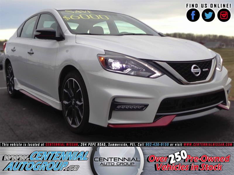 2017 Nissan Sentra Nismo | $6,000 off! | 1.6L - Turbo Charged #S17-358