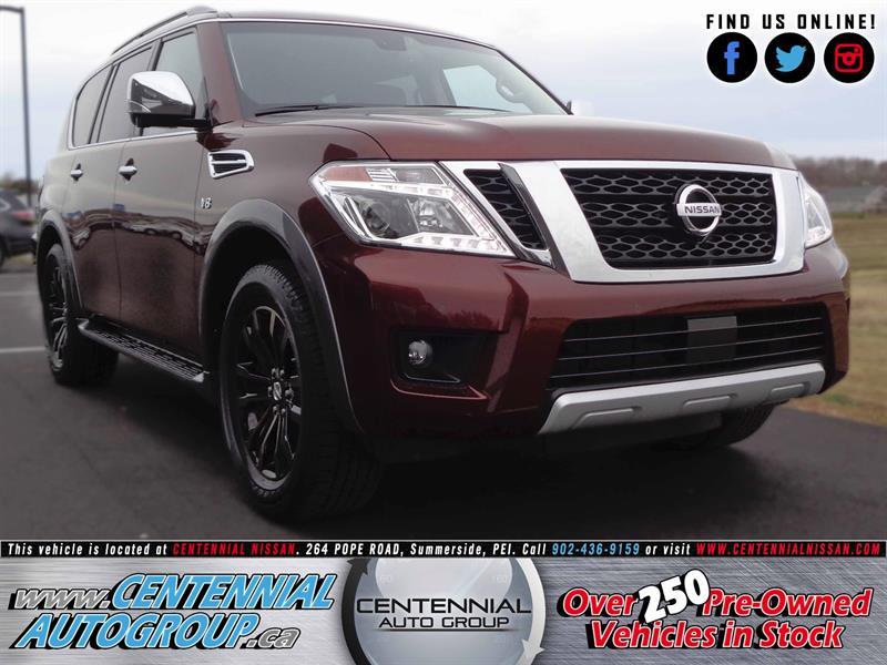 2017 Nissan Armada Platinum | $15,000 in Savings! | 5.6L | Navi #17-101