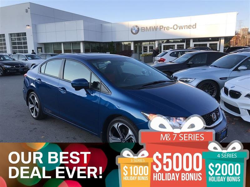 2015 Honda Civic Sedan SI 6MT #BP542810