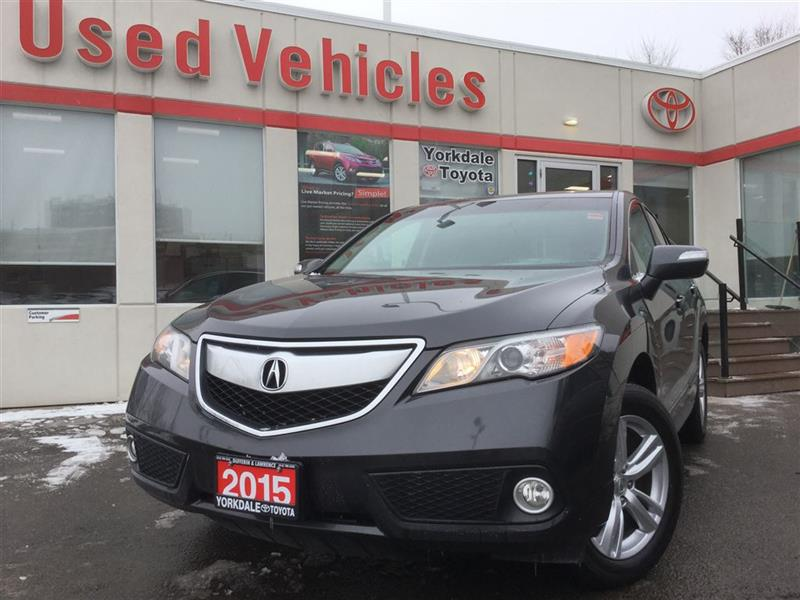 2015 Acura RDX BLUETOOTH, BACKUP CAM, MEMORY SEATS, SUNROOF, ALLO #P6839