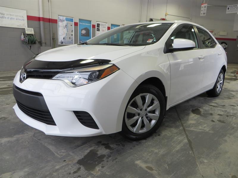 Toyota Corolla 2014 LE Gr:A *CAMÉRA + SIEGES CHAUFFANTS* #U7679