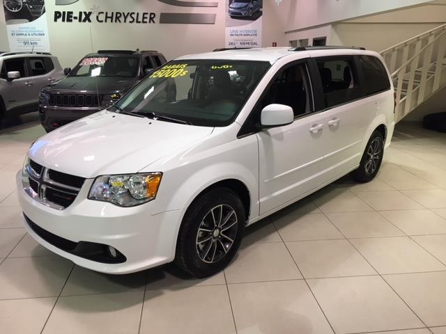Dodge Grand Caravan 2017 PREMIUM PLUS + CUIR + AIR TRI-ZONE #Z17380