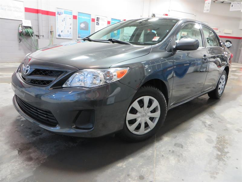 Toyota Corolla 2013 CE Gr:C *A/C + AUTOMATIQUE* #U7676