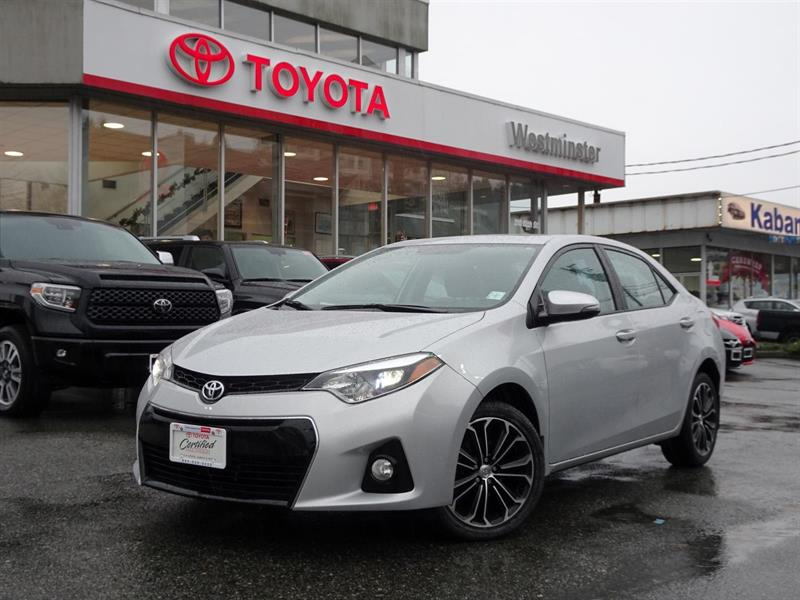 2016 Toyota Corolla S Upgrade Package #P6446T