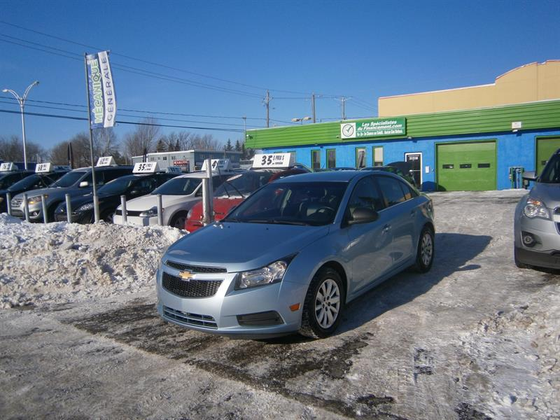 Chevrolet Cruze 2011 4dr Sdn LS w-1SA #F170104-04