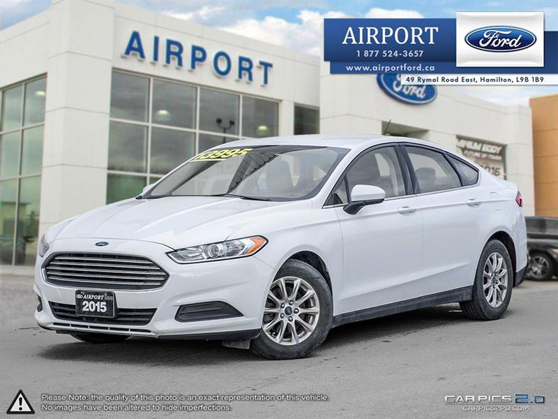 2015 Ford Fusion S FWD 2.5L with only 72,844 kms #A71171
