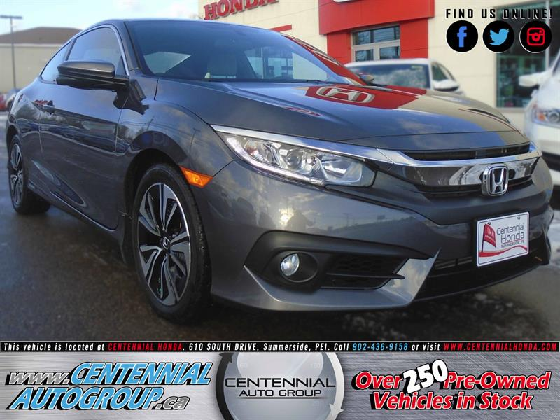 2016 Honda Civic Coupe EX-T | NEW | 1.5L | Turbocharged | Moonroof #8175