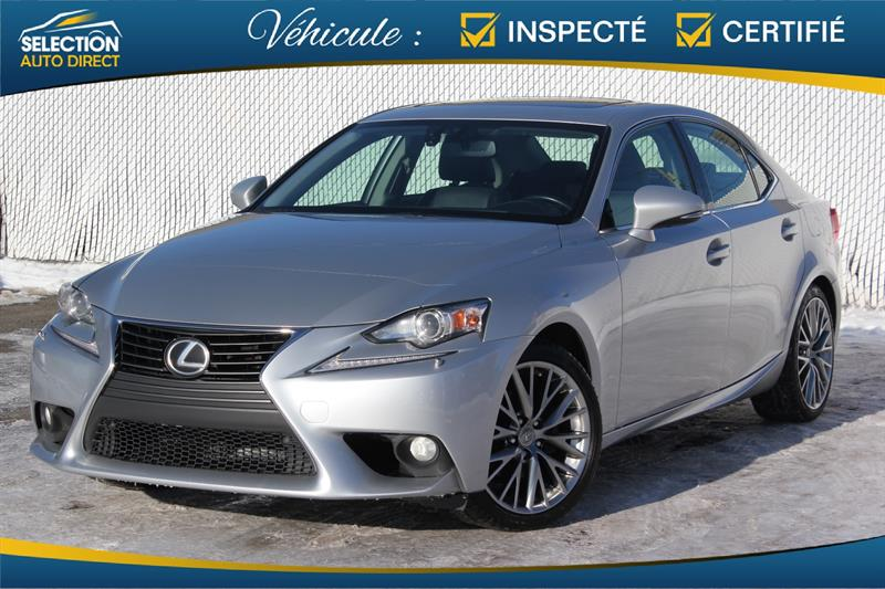 Lexus IS 250 2014 4dr Sdn AWD #S003682