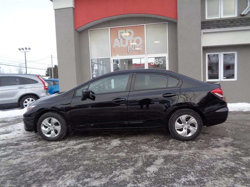 Honda Civic 2014 4dr CVT LX***bluetooth***automatique*** #9429