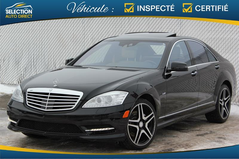 Mercedes-Benz S-Class 2012 4dr Sdn S 550 4MATIC SWB #S456454