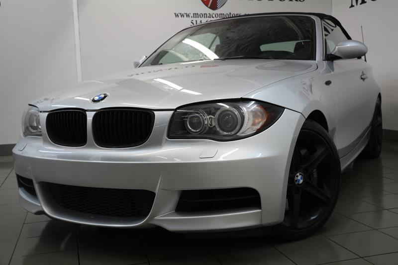 2008 BMW 1 Series 135i Convertible 300HP MANUEL #8182
