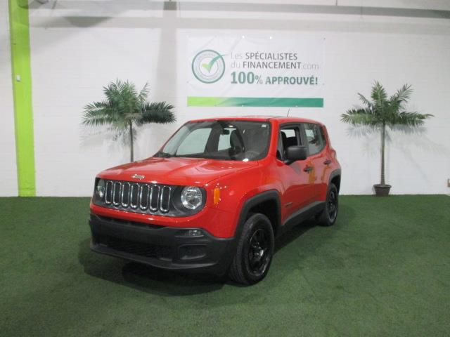 Jeep Renegade 2015 4WD 4dr Sport #2108-12