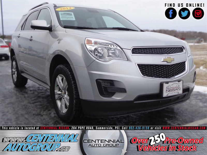 2014 Chevrolet Equinox LT | 2.4L | i4-Cyl | Local One Owner | Bluetooth #SP17-046A