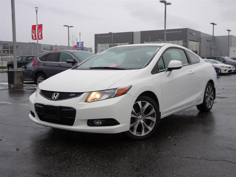 2012 Honda Civic Si! Honda Certified Extended Warranty to 160,000 K #W0462A