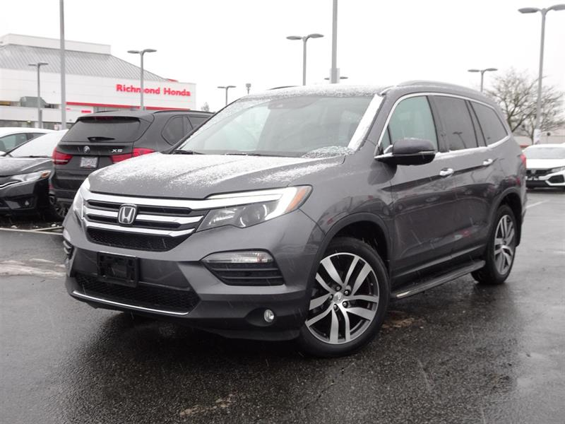 2016 Honda Pilot Touring! Honda Certified Extended Warranty to 120, #LH7838