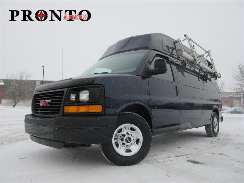 GMC Savana Cargo Van 2008 3500 Allongé Extended * Toit surelevé High roof!   #3517
