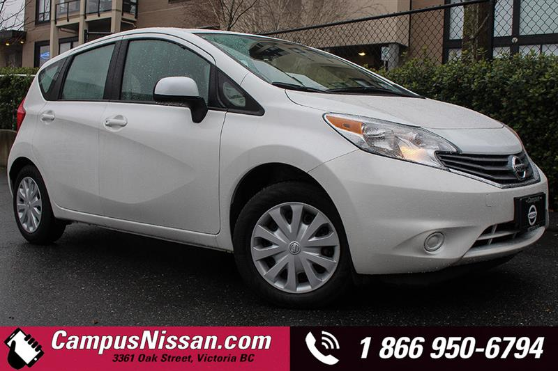 2014 Nissan Versa Note S Manual 5spd #JN2791