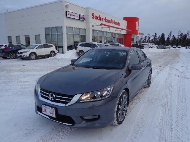 2014 Honda Accord Sedan 4dr I4 CVT Sport #EA800335A