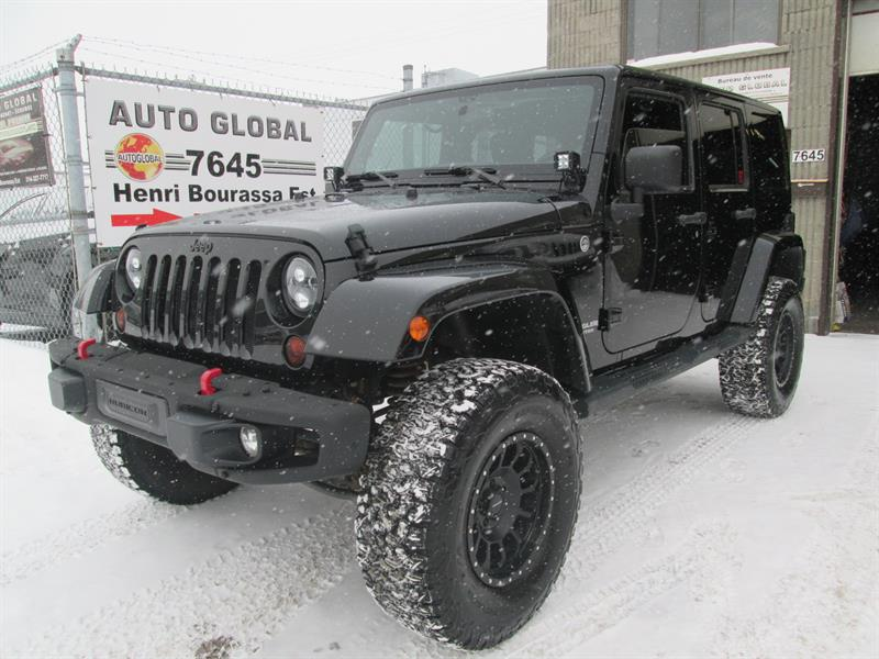 Jeep Wrangler Unlimited 2012 4WD,35 POUCES,RUBICON HARDROCK BUMPER #17-2444