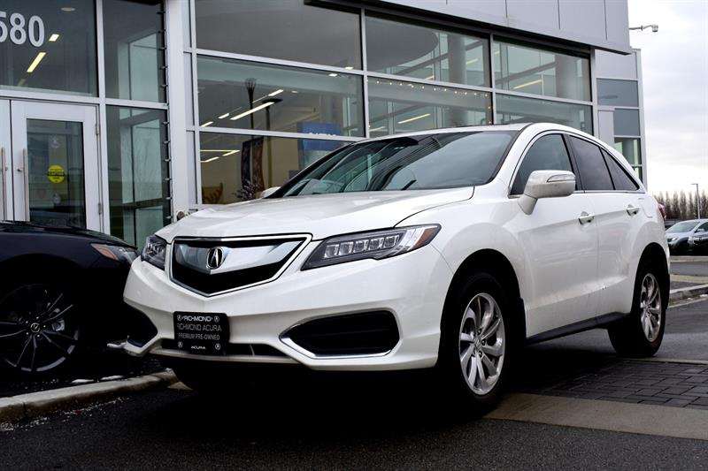 2016 Acura RDX AWD 4dr Bluetooth Camera #836301A