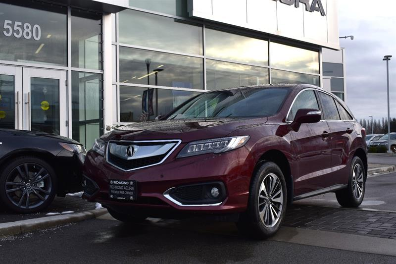 2017 Acura RDX AWD 4dr Elite Pkg Bluetooth Camera Sunroof #836482A