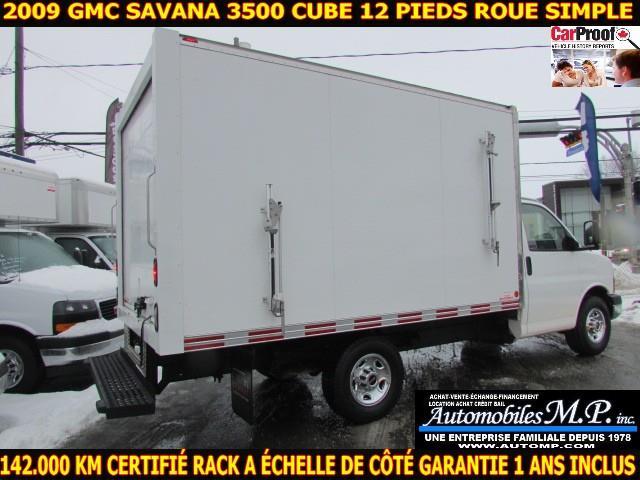 GMC Savana 3500 Cube 12 Pieds 2009 IMPECCABLE 142.000 KM CERTIFIÉ #N-1731