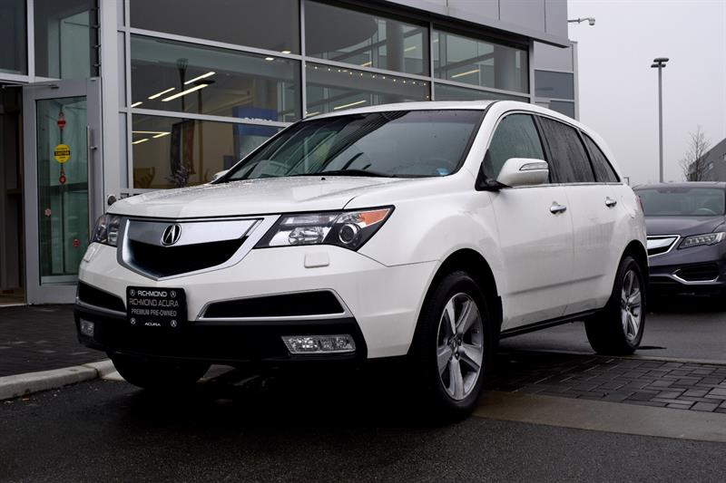 2011 Acura MDX AWD 4dr Camera Sunroof Leather #836722A