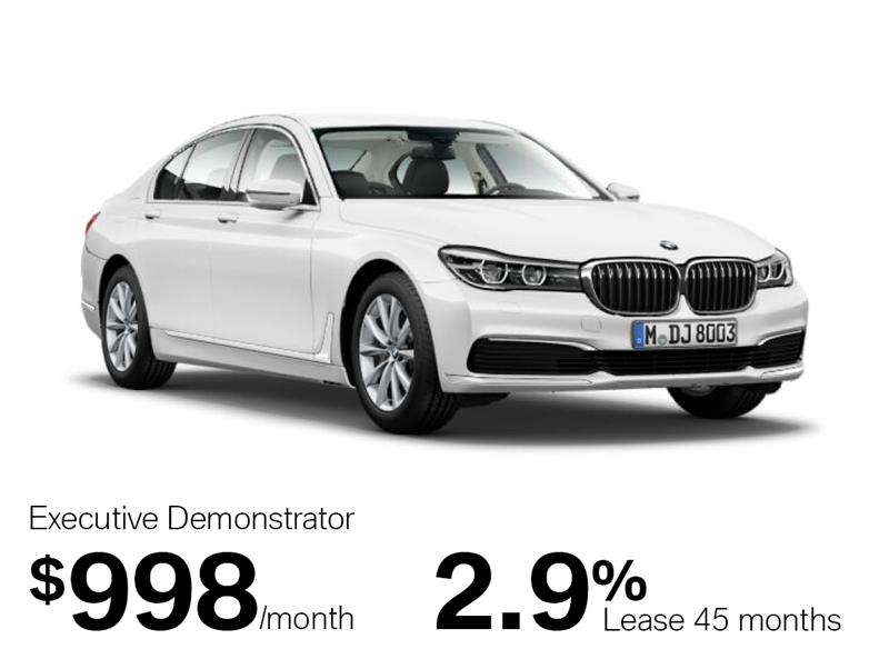 2018 BMW 7 Series 750i xDrive Sedan #J0140