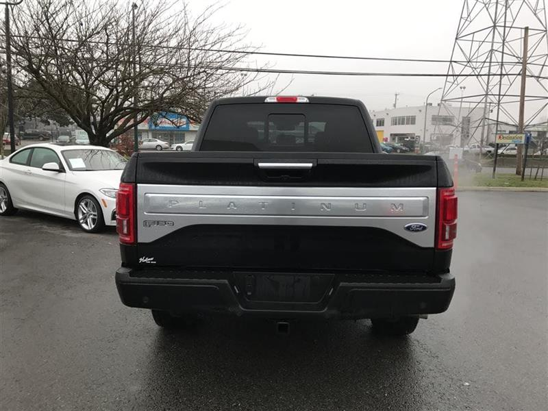 Ford F  X Supercrew Platinum  Wb Used For Sale In Vancouver At Brian Jessel Bmw