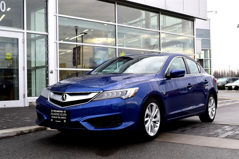 2016 Acura ILX 4dr Sdn  tech pkg bluetooth #796319A