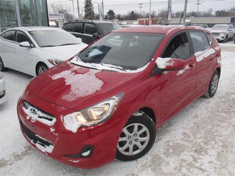 Hyundai Accent 2013 GL BLUETOOTH, BANCS CHAUFFANTS, A/C #E-0224