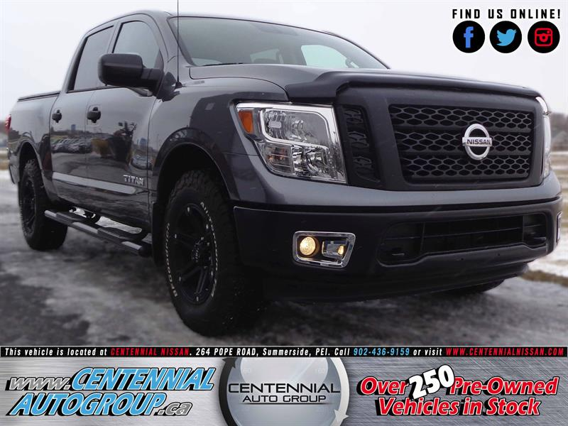 2017 Nissan Titan S | NEW DEMO | 4WD | ONE OF A KIND| CREWCAB #S17-295