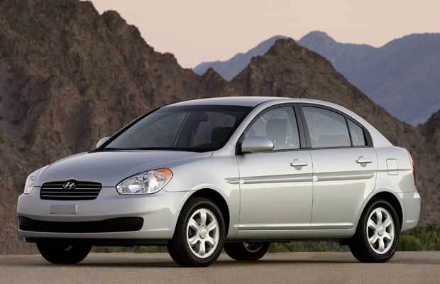 Hyundai Accent 2006 #a6450-2