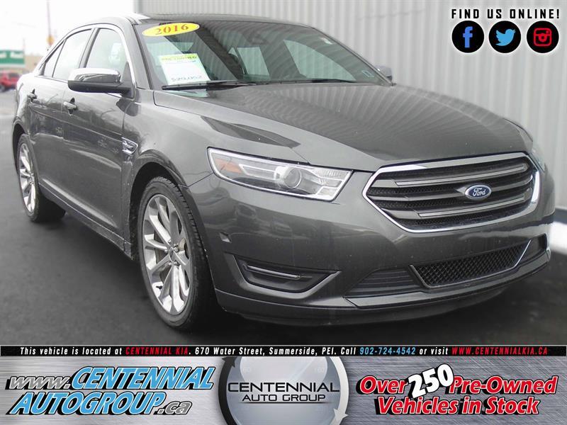 2016 Ford Taurus Limited | AWD | 3.5L | V6 | Bluetooth #U725A