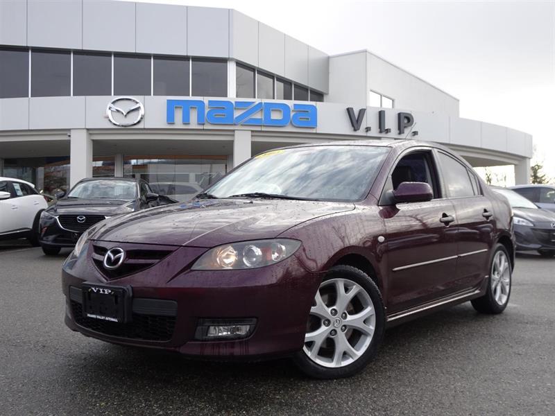 2008 Mazda MAZDA3 GT, LEATHER, AUTO #8108A
