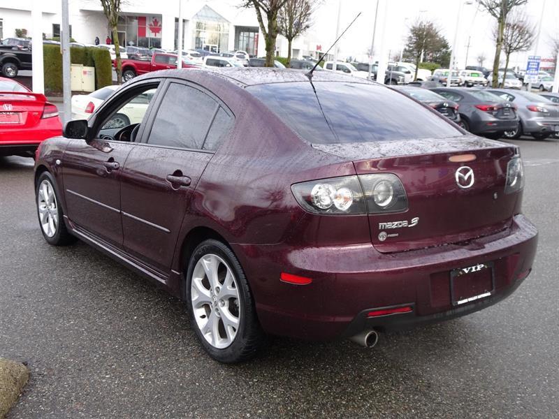 2008 Mazda MAZDA3 GT, LEATHER, AUTO Used For Sale In Abbotsford At VIP Mazda