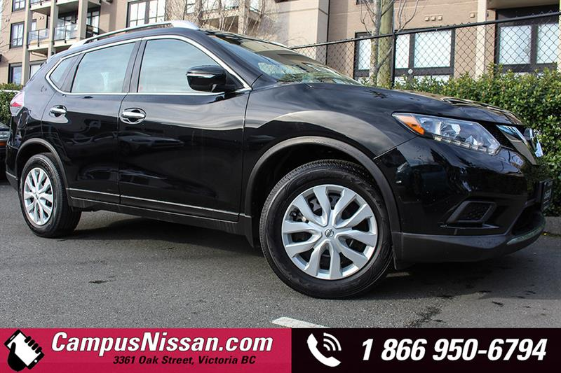 2015 Nissan Rogue S FWD w/ Back-Up Cam #A7123