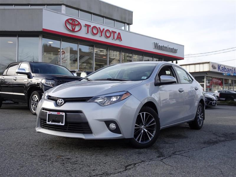 2016 Toyota Corolla LE Upgrade Package #P6449T
