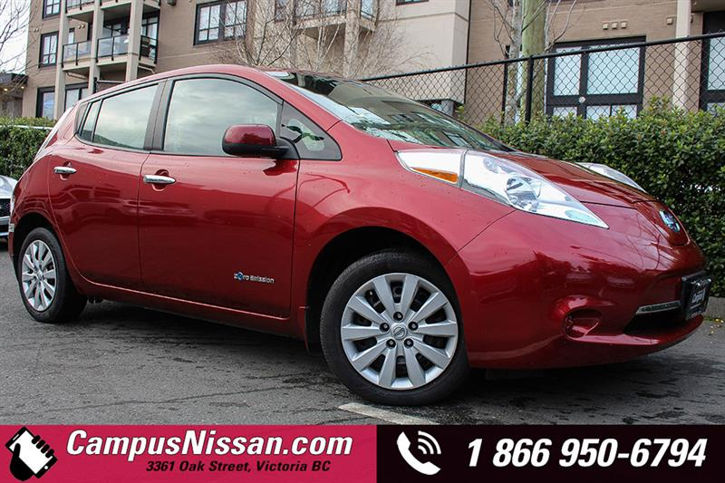 2015 Nissan Leaf S w/ QUICK CHARGE  #JN2772