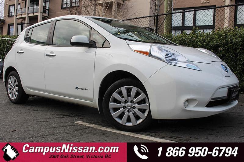 2015 Nissan Leaf S w/ QUICK CHARGE  #JN2776