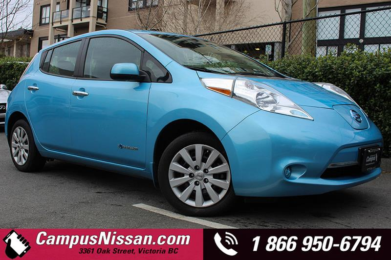 2015 Nissan Leaf S w/ QUICK CHARGE  #JN2777
