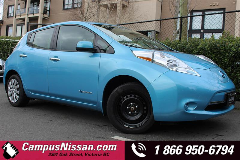 2015 Nissan Leaf S w/ QUICK CHARGE  #JN2785